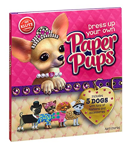 Klutz Dress Up Your Own Paper Pups Craft (Puppies Paper)