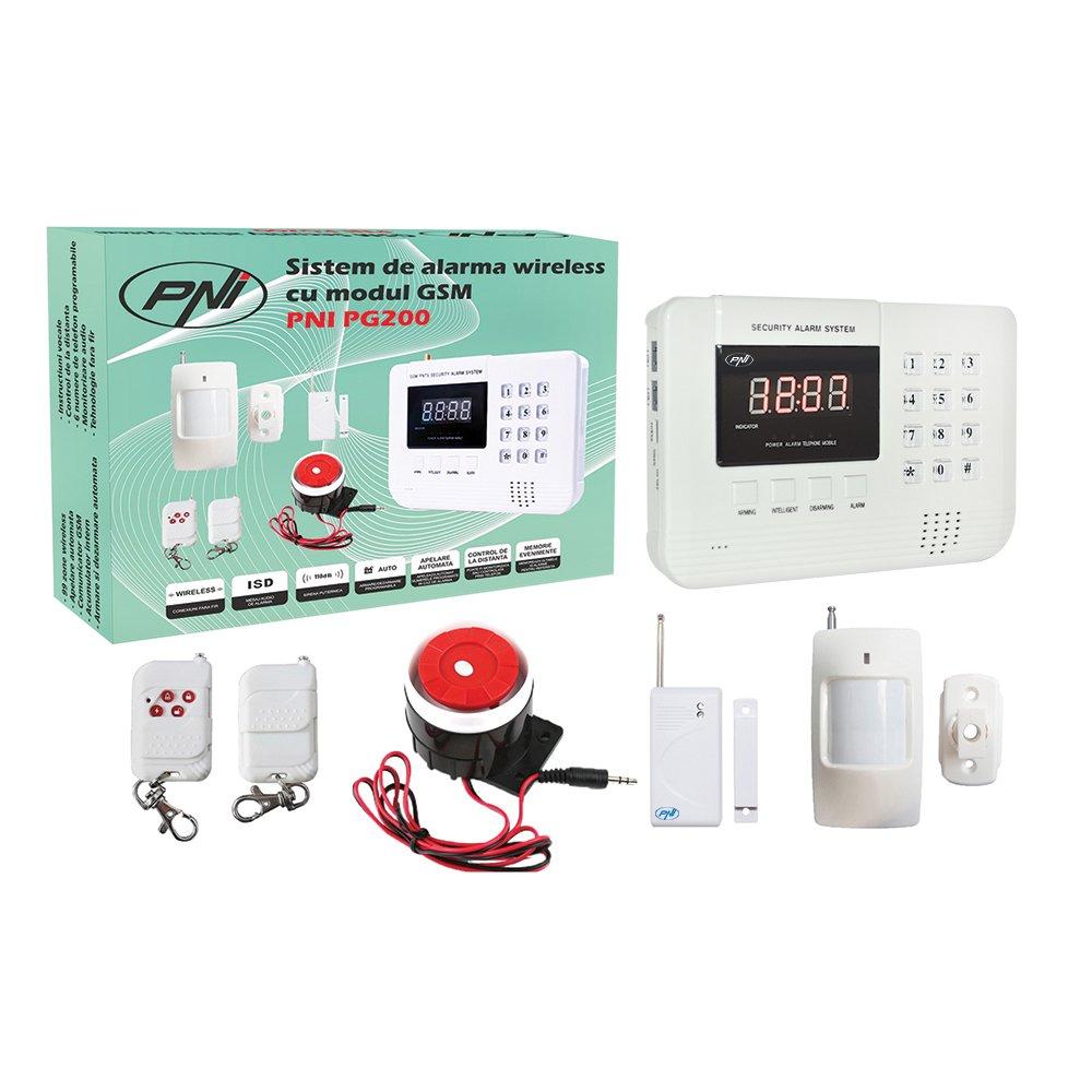 99 Zonas inalámbricas y 2 Zonas Cableadas Sistema de Alarma ...