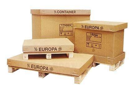 Cajas cartón palets - 1200 mm x 800 x 780 mm - Europa total