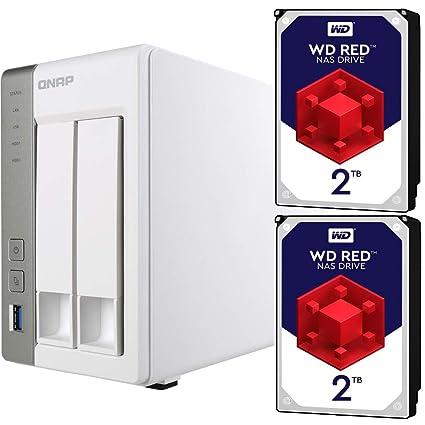 Amazon com: Qnap TS-231P-US Personal Cloud NAS Bundle
