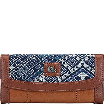 The Sak Iris Flap Wallet, Blue Diamond