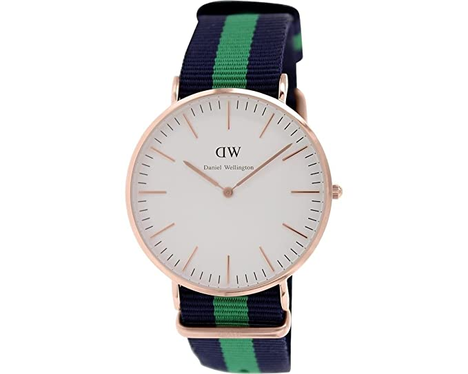 Daniel Wellington Reloj con Movimiento Miyota Man Warwick 41 mm: Amazon.es: Relojes