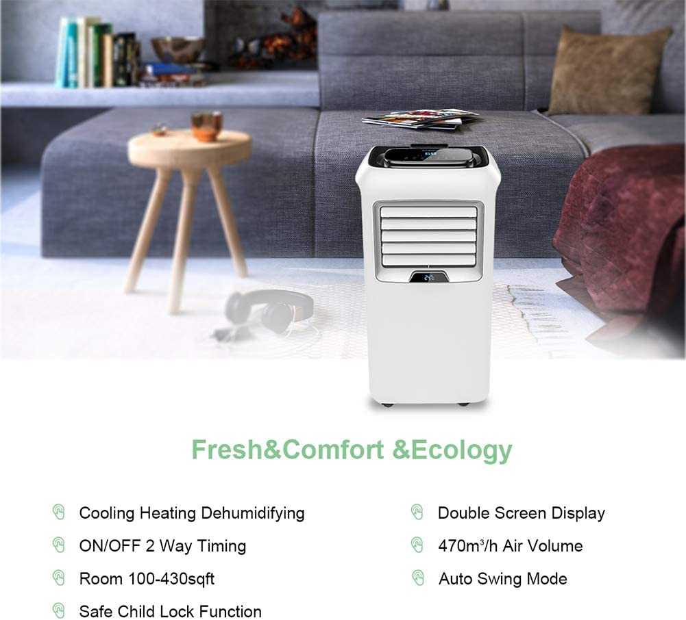 Adjustable Speed LED Display,Remote Control LUKO Portable Air ...