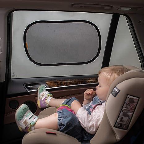 3 Pack Beusafe Car Window Shades Baby Car Sun Shades UV Protection Blocking Over 90/% of Harmful UV Rays