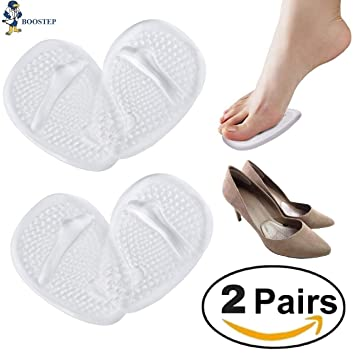 77a7242af Medical Gel Forefoot Ball of Foot Cushions Shoe Insoles Metatarsal Pads  women shoe inserts for foot