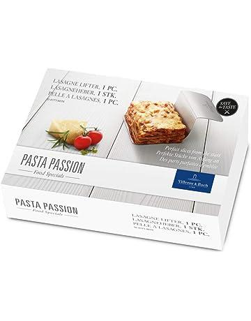 Villeroy & Boch Pasta Passion Pala para lasaña, Acero Inoxidable 18/10, Blanco