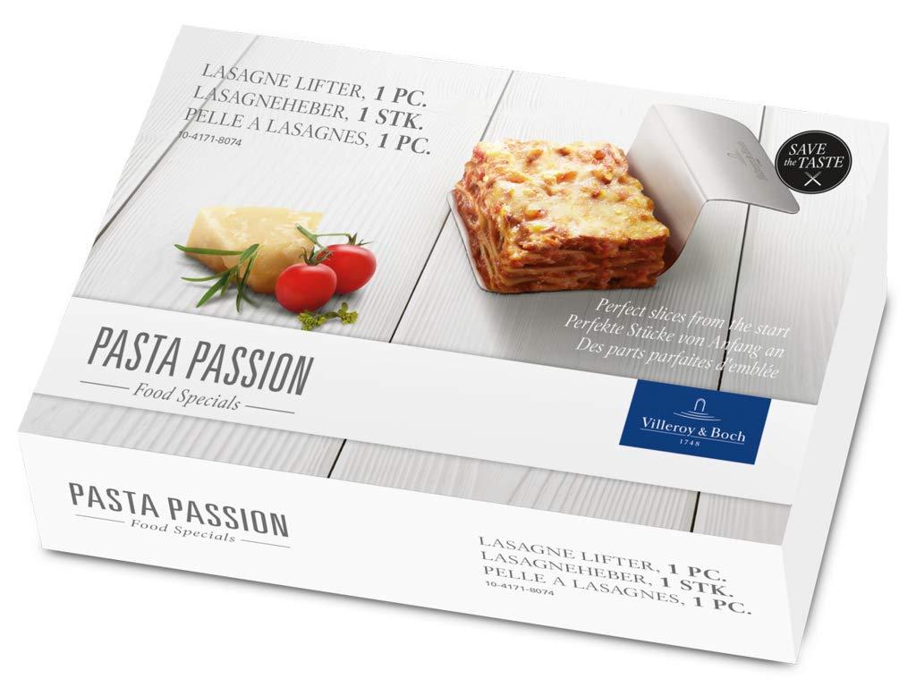 Villeroy & Boch Pasta Passion Pala para lasañ a, Acero Inoxidable 18/10, Blanco 10-4171-8074