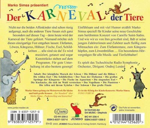 Karneval Der Tiere Geschichte