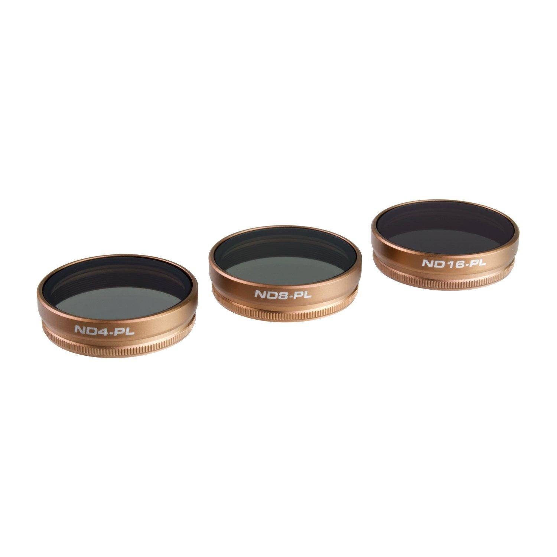 PolarPro DJI Phantom 4 Filters-Cinema Series-VIVID Collection (3-Pack)