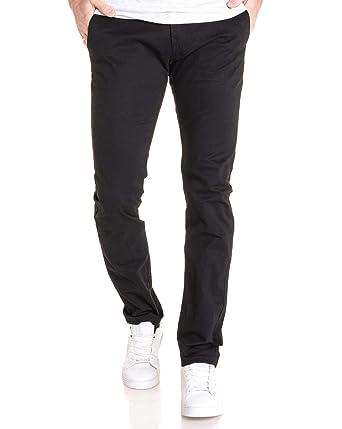 Jeans Chino Toile Noir Homme En Blz Pantalon Pour mwvnN80