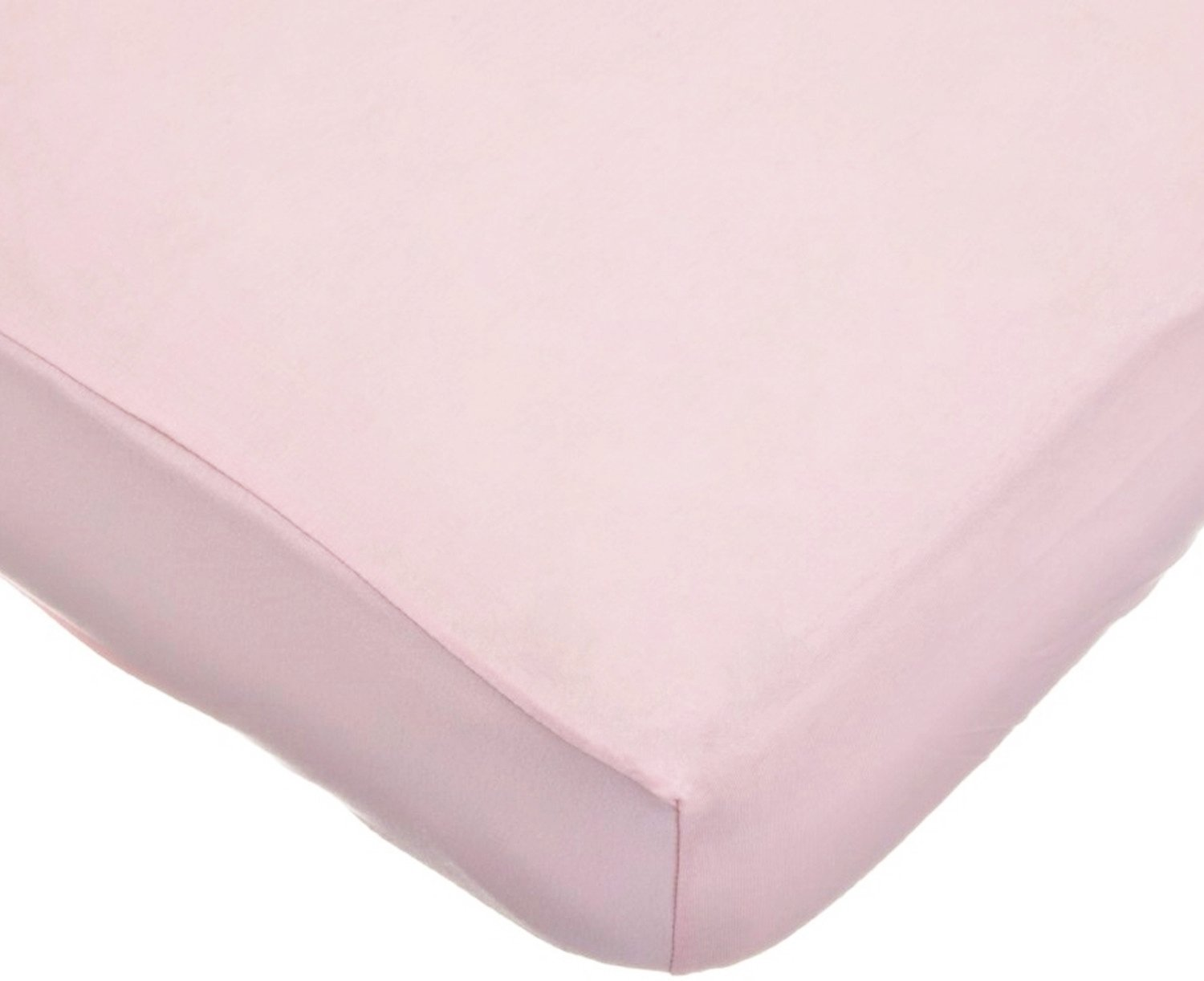 American Baby Company 100% Cotton Jersey Knit Fitted Crib Sheet for Standard Crib and Toddler Mattresses,  Pink