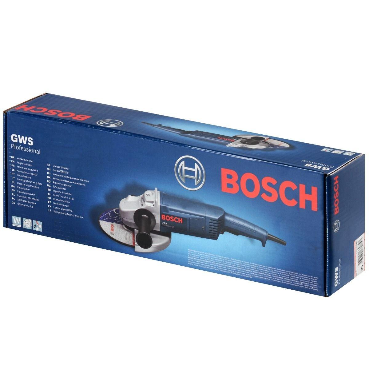 Amoladora profesional Bosch GWS 20-230 por solo 102,64€