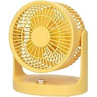 Staright Ventilador circulador de ar Ventilador de mesa pequeno silencioso Grade removível com inclinação de 110 graus…