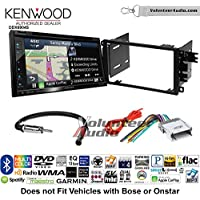 Volunteer Audio Kenwood Excelon DNX694S Double Din Radio Install Kit with GPS Navigation System Android Auto Apple CarPlay Fits 2003-2005 Chevrolet Blazer, 2003-2006 Silverado, 2003-2006 Suburban