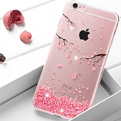 EMAXELERS Funda iPhone 7 Plus, Ligera Silicona Suave TPU Gel ...