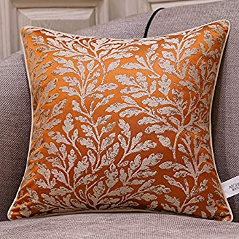 Amazon Com Pillowerus Upholstery Chenille Floral Pattern