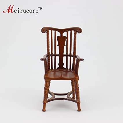 Fine Dollhouse 1//12 Scale Miniature furniture handmade wood chair