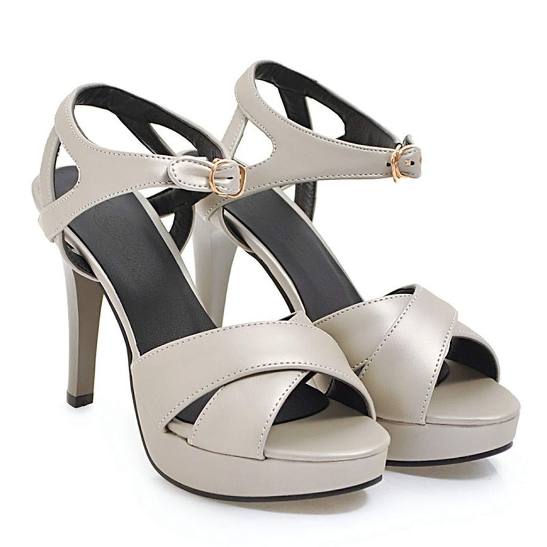 Silver Summer Sandals Women Sandalia Elegant Stiletto Heels Peep Toe Party shoes