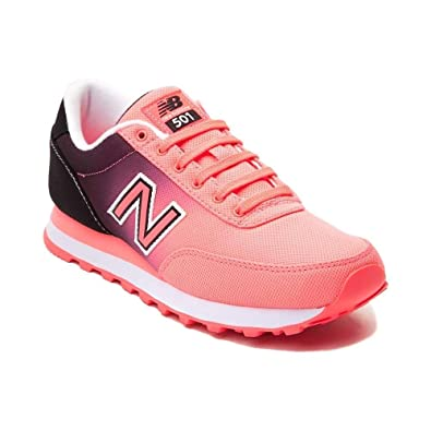New Balance Women's 501 Fashion Sneaker (Womens 5, Coral 1490)