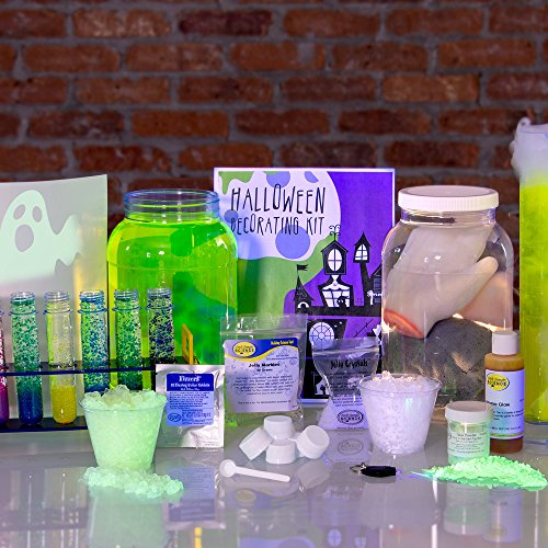 Steve Spangler's Halloween Decorating Kit - Halloween Party Science Experiment Kit for Kids and Classroom