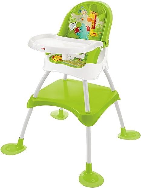 Fisher Price 4 en 1 Biberón de selva alta silla infantil asiento ...