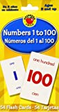 Numbers 1 To 100/Numeros del 1 al 100 (Brighter Child Flash Cards)