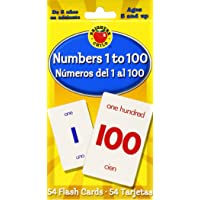 Brighter Child 0769647995 Numbers 1 to 100 Flash Cards