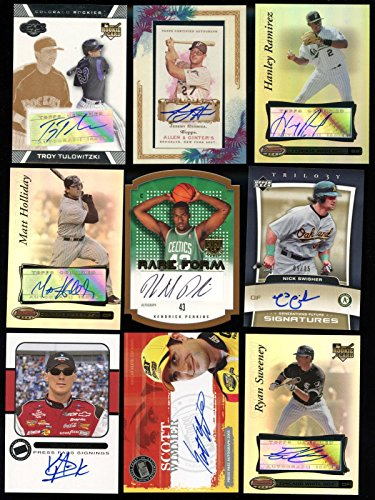2005 Trilogy Generations 9/15 Nick Swisher Signed Autograph Card AUTO - Upper Deck Certified - Autographed Baseball Cards