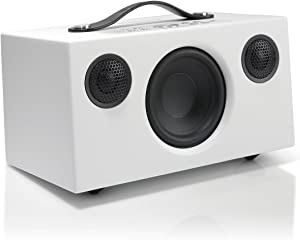 Audio Pro Addon C5A Alexa Built in Voice Controlled Compact High Fidelity WiFi Bluetooth Wireless Multi-Room Smart Speakers - White