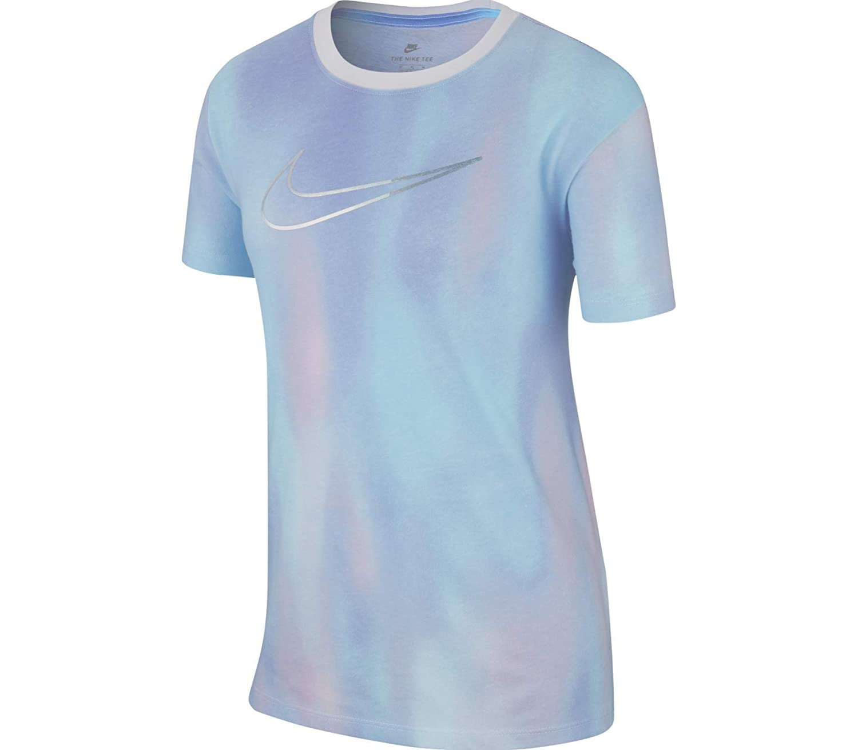 Nike Children's Unicorn All-Over Print T-Shirt Girls' Long-Sleeved, Children's, AA8938