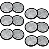 Everyday WWF-12 12-Replacement Charcoal Water Filters for Mr. Coffee Machines, White