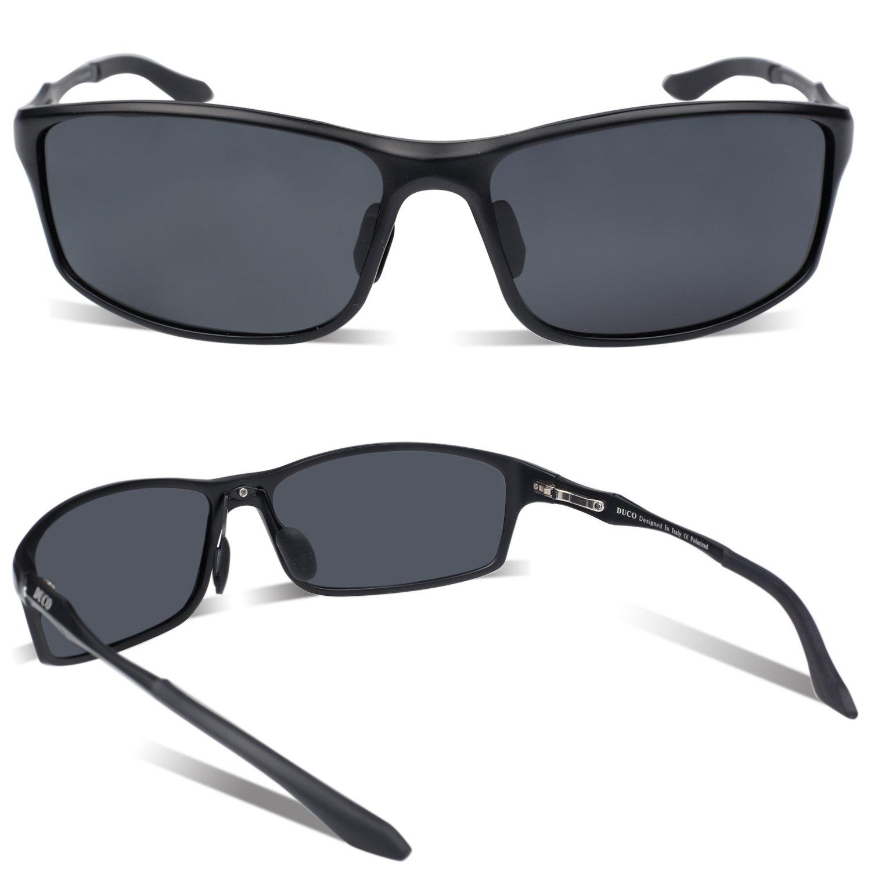 8240da899ca Duco Men s Driving Sunglasses Polarized Glasses Fishing Golf Goggles 8201   Amazon.ca  Clothing   Accessories
