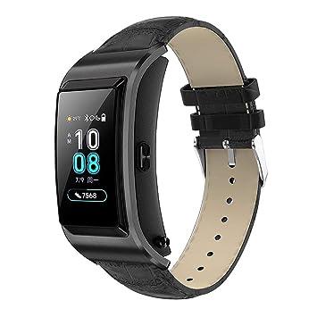 XIHAMA Correa 18mm para Smartwatch, Bracelet de Cuero para Huawei ...