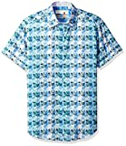 Robert Graham Men's Ipanema Short Sleeve Classic Fit Sport Shirt, Multi, XLarge