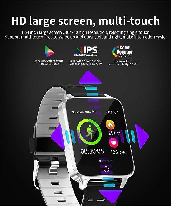 Amazon.com: Star_wuvi X9 1.54Inch Color Full Screen IP68 ...
