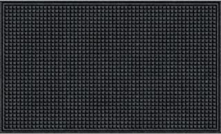 product image for Apache Mills Squares Mat, Onyx, 2-Feet by 3-Feet
