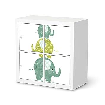 creatisto Deko-Folie für IKEA Expedit Regal 4 Türen ...