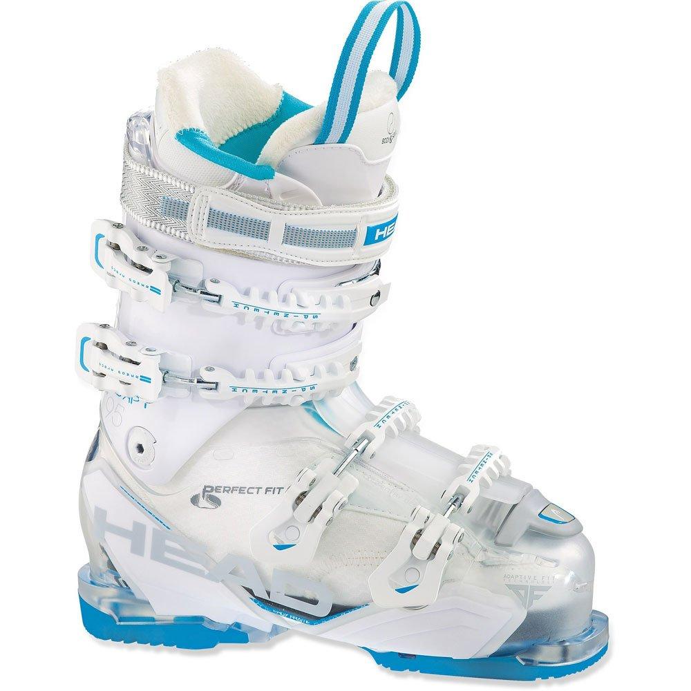 Chaussure de ski Head Adapt Edge 95 W Tr 白い 青 - 23.5