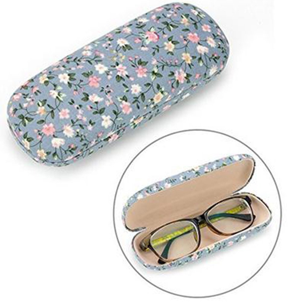 Demarkt Brillenetui Hardcase Brillenbox Brillen Schutztasche Brillenetui Schockabsorbierend Tasche mit Klappverschluss