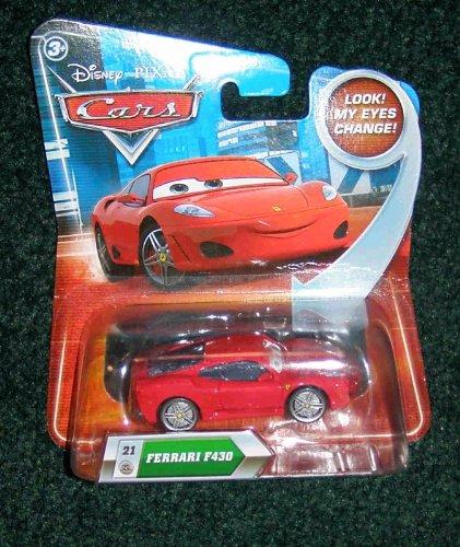 Disney / Pixar CARS Movie 155 Die Cast Car LOOSE Ferrari F430 Lenticular Eyes