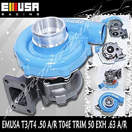 EMUSAT3/T4 Hybrid Turbo Charger .50 A/R Compressor .63 A/