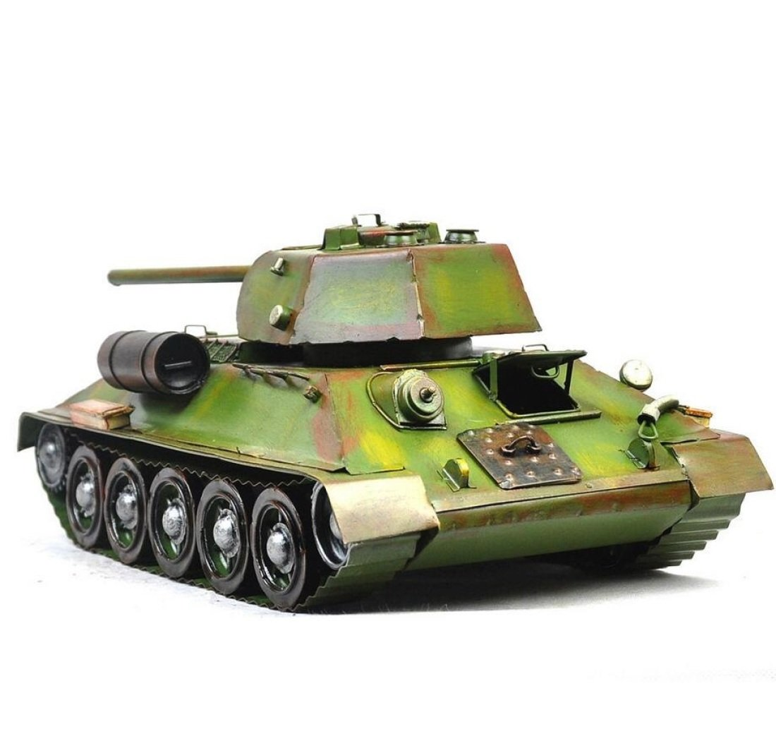 GL&G Retro Iron art tank model military Car model Home gift Photography props Cafe bar decoration Tabletop Scenes Collectible Vehicles Ornaments Keepsakes,3518.514.5cm
