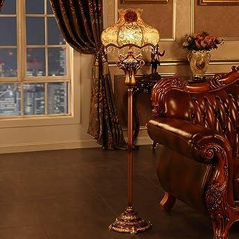 Lámpara de pie Paño ligero - LD18L Estilo europeo Salón Dormitorio ...