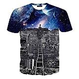 Hatton Men's Graffiti Solid Classic Wall T-shirts
