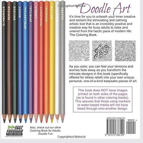 Coloring Book Using Water : Amazon.com: doodle art coloring book adult fun designs for stress