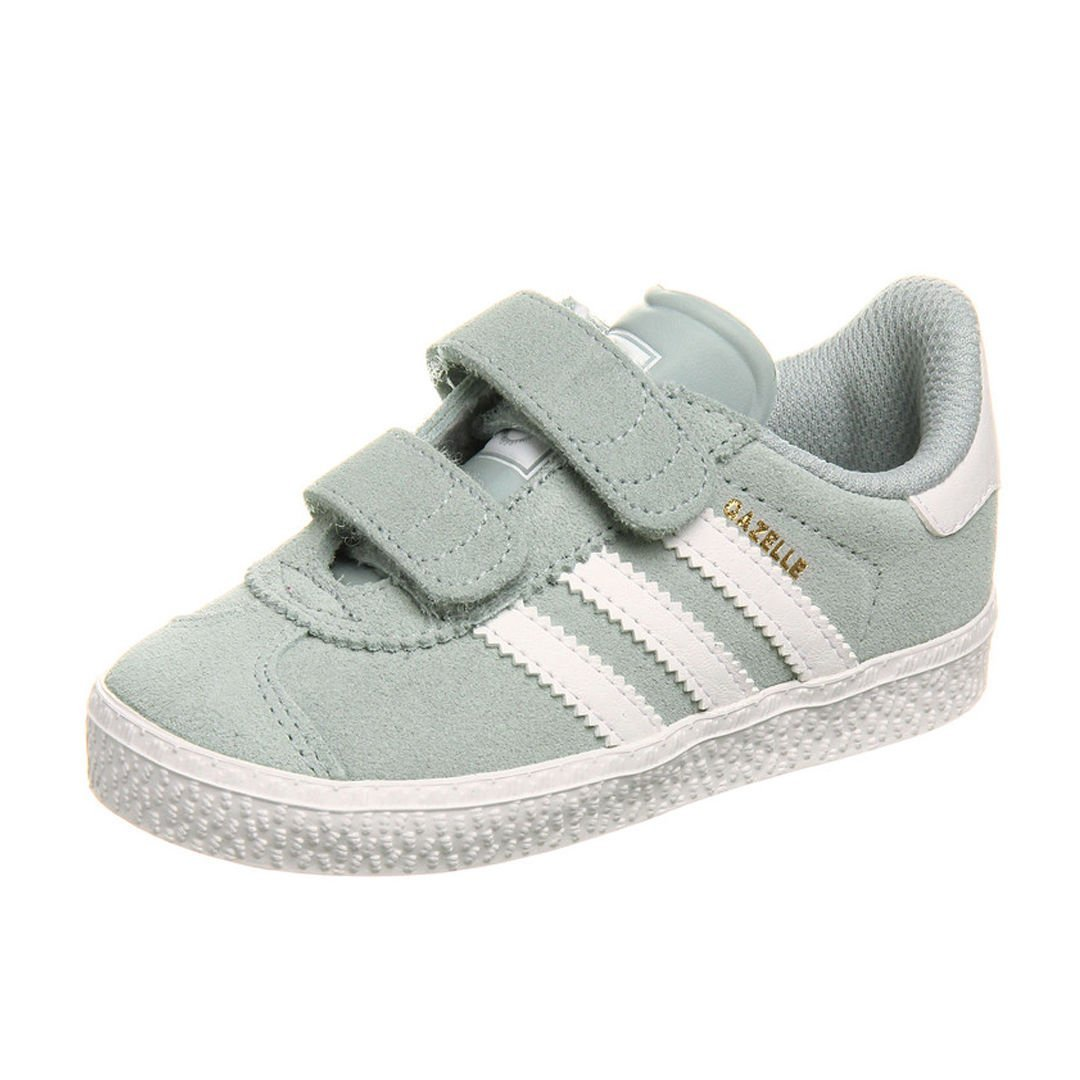 Kids Baby Toddler Boys Adidas Gazelle 2 Light Grey White Suede Velcro  Trainers (UK 3 US 4 EU 19)  Amazon.co.uk  Shoes   Bags cdb1a26181f0