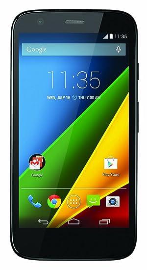 4f611ef7358 Amazon.com: Motorola Moto G LTE- Factory Unlocked US Warranty (Black ...