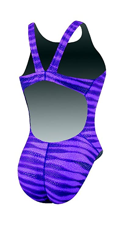 500926fa7c Nike Foil Skin Fast Back Tank Team Swimsuit - TFSS0007-554 Purple Size-20