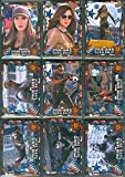 2016 Upper Deck CAPTAIN AMERICA Civil War Complete BLUE FOIL Parallel110 Card Mini Master Set