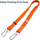 Boaton Hunting Safety Harness, Tree Climbing Belt, Linemans Belt, Add Level of Safety for Hunting, Hanging Stand Or Step, Trimming Tree, Putting Up Deer Stand, Installing Steps, Ladder Or Climbing